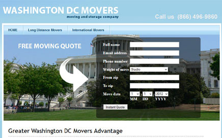 Greater Washington DC Movers